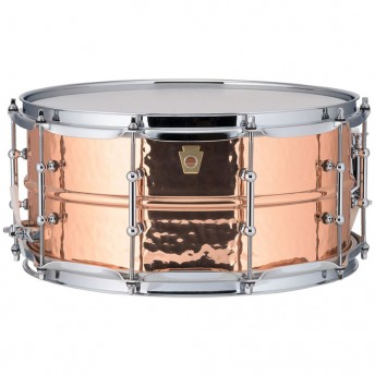 "LUDWIG – COPPERPHONIC 14""X6.5"" COPPER HAMMERED SNARE DRUM"