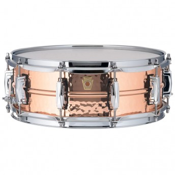 """LUDWIG – COPPERPHONIC LC660K 14""""X5"""" COPPER SNARE DRUM"""