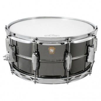 "LUDWIG – BLACK BEAUTY 14""X6.5"" BRASS SNARE DRUM"