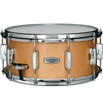 "TAMA – SOUNDWORKS 14""X6.5"" MAPLE SNARE DRUM"