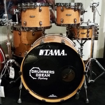 Tama Starclassic 5 Piece Drum Kit Shell Set - Silky Oak Gloss - MADE IN JAPAN