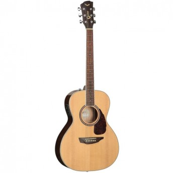 SGW Solid Top Grand Concert Natural Finish Acoustic Guitar