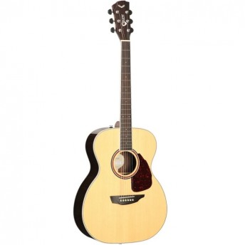 SGW Solid Top Orchestra Natural Finish Acoustic Guitar