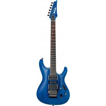 Ibanez S6570Q NBL Prestige Electric Guitar with Case Natural Blue 2019