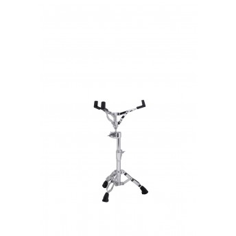 ARMORY DOUBLE BRACED SNARE STAND w/ OFF SET OMNI-BALL SNARE BASKET ADJUSTER - CHROME