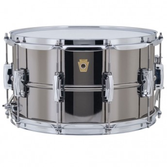 """LUDWIG – BLACK BEAUTY LB408 14""""X8"""" BRASS SNARE DRUM"""