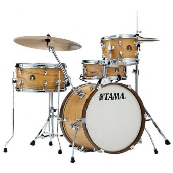 TAMA - CLUB JAM - 4 PIECE DRUM KIT w/HARDWARE - SATIN BLONDE FINISH - LJK48SCCM