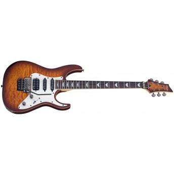 Schecter Banshee-6 FR Extreme Vintage Sunburst (VSB) Electric Guitar