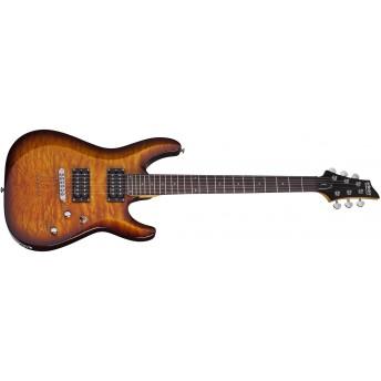 Schecter SCH444 C-6 PLUS Vintage Sunburst Electric Guitar