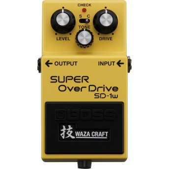 BOSS – SD-1W SUPER OVERDRIVE PEDAL – WAZA CRAFT SPECIAL EDITION