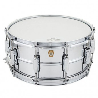 "LUDWIG – CHROMED BRASS 14""X6.5"" SNARE DRUM"
