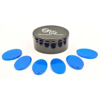 SKYGEL - Drum Damper Pads - Blue (Pack of 6)