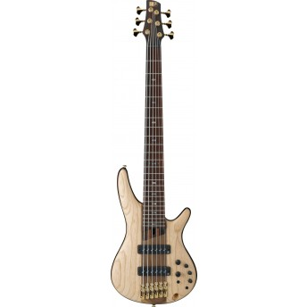 Ibanez SR1306 NTF Electric 6 String Bass with Bag Natural Flat 2019