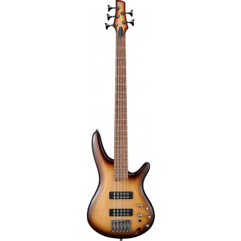 Ibanez SR375E NNB 5 String Bass Guitar Natural Browned Burst 2019