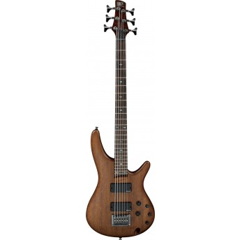 Ibanez SRC6 WNF Electric 6 String Bass Walnut Flat 2019