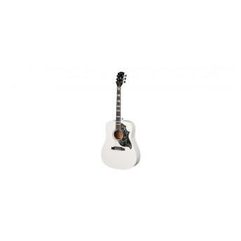 Gibson White HB Acoustic Guitar Alpine White 2018
