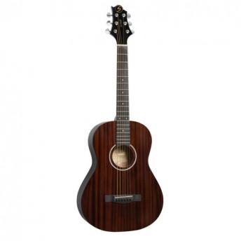 Greg Bennett 3/4 Size Folk Guitar Natural Finish Acoustic Guitar