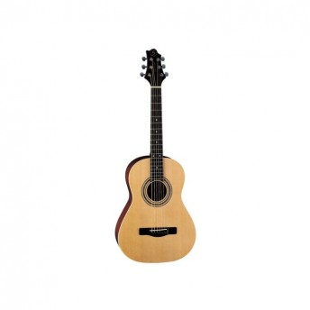 Greg Bennett 3/4 Size Folk Guitar Spruce Top Natural Finish Acoustic Guitar