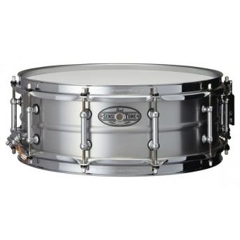 "Pearl Sensitone Snare Drum 14""x5"" Beaded Seamless Aluminum"
