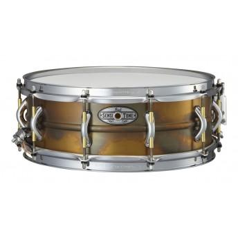 "Pearl Sensitone Snare Drum 14""x5"" Premium Beaded Brass"