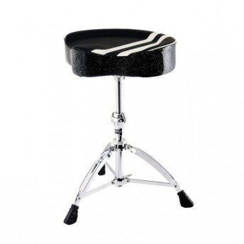 MAPEX T756B Retro Saddle Throne With Spiral Thread Black