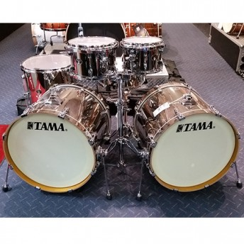 Tama Silverstar 6 Piece Limited Edition Chrome Drum Kit Shell Set