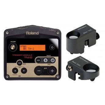 Roland TM-2KS TM-2 Drum Sample Trigger Module Kick And Snare Bundle