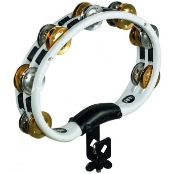 Meinl - Mountable Recording-Combo ABS Tambourine - Dual-Alloy Jingles - 2 Rows