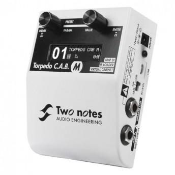 Two Notes CAB M Torpedo C.A.B M Speaker Simulator Pedal