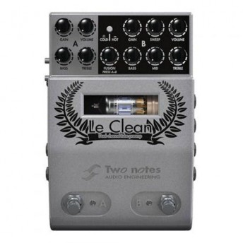 Two Notes Le Clean Dual Channel Clean Tube Preamp Pedal