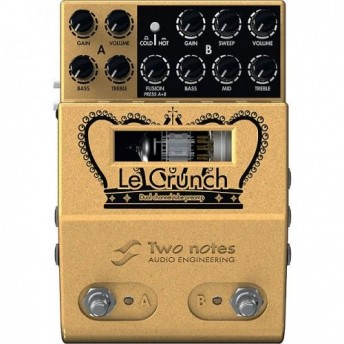 Two Notes Le Crunch Dual Channel Crunch Tube Preamp Pedal