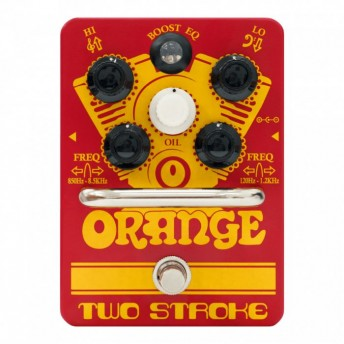 Orange Two Stroke Boost Pedal