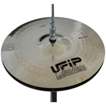 "UFIP – CS-14BHH – CLASS SERIES – BRILLIANT – 14"" HI-HAT CYMBALS"