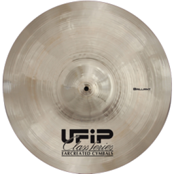 "UFIP – CS-20BR – CLASS SERIES – BRILLIANT – 20"" RIDE CYMBAL"