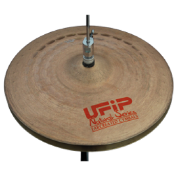 "UFIP – NS-13LHH – NATURAL SERIES 13"" LIGHT HI-HAT CYMBALS"