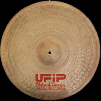 "UFIP – NS-22MR – NATURAL SERIES 22"" MEDIUM RIDE CYMBAL"