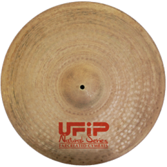 """UFIP – NS-22NRV – NATURAL SERIES 22"""" RIDE SIZZLE CYMBAL"""