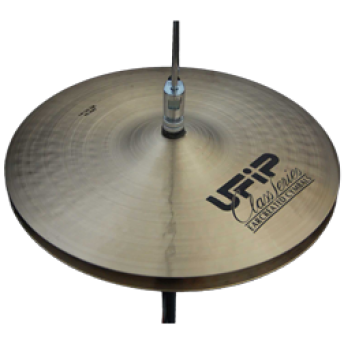 "UFIP – CS-15MHH – CLASS SERIES 15"" MEDIUM HI-HAT CYMBALS"