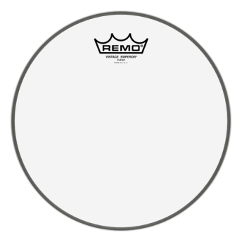 "Remo VE-0310-00 10"" Vintage Emperor Clear Drum Head Skin"