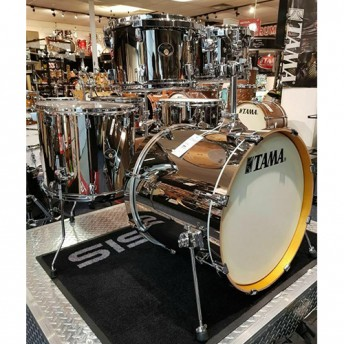 Tama Silverstar 5 Piece Chrome Drum Kit Shell Set - Limited Edition