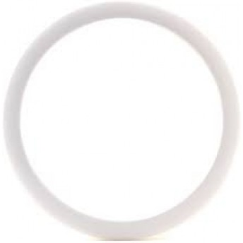 "BASS DRUM O – 6"" WHITE BD PORT HOLE"