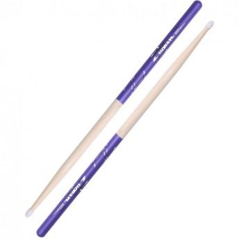 Zildjian Hickory 5A Nylon Purple DIP Drumsticks