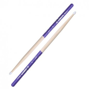 Zildjian Hickory 5B Nylon Purple DIP Drumsticks