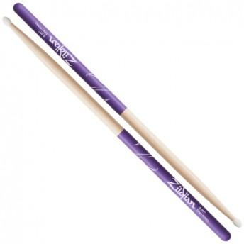 Zildjian Hickory 7A Nylon Purple DIP Drumsticks